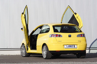 """LSD gives your car wings"" - LSD wing doors for Ford Fiesta and Seat Ibiza 6L"