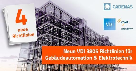 Vier auf einen Streich: Neue VDI 3805 Richtlinien für Gebäudeautomation und Elektrotechnik