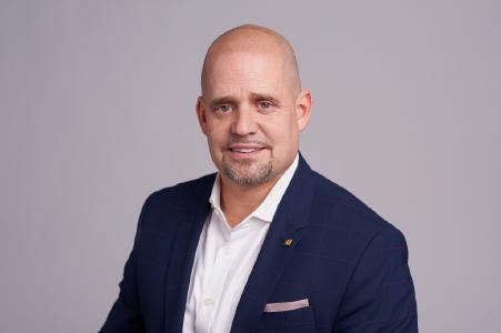 Axel Hirsch, Vertriebsleiter Distribution