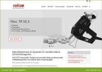 Digitalagentur formativ.net erstellt neue Website mit Online-Produktkatalog für Reka Klebetechnik.
