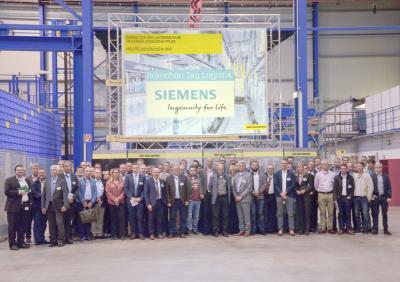 SSI Schaefer Welcomes Participants from the Siemens Logistics Industry Day to the Technology Center