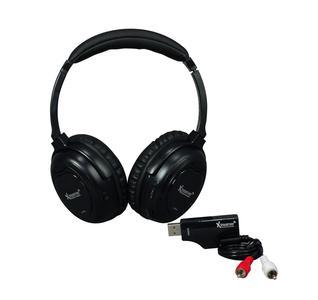 Funkkopfhörer und Transmitter-Stick