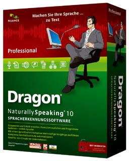 Dragon NaturallySpeaking 10 Professional
