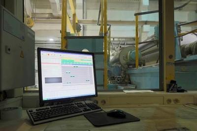 Die Qualität immer online im Blick: Bedienstation des Inspektionssystems an der PM10
