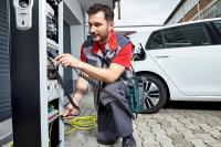 Für die Ladestationen von Elektroautos spielt die elektrische Sicherheit eine große Rolle
