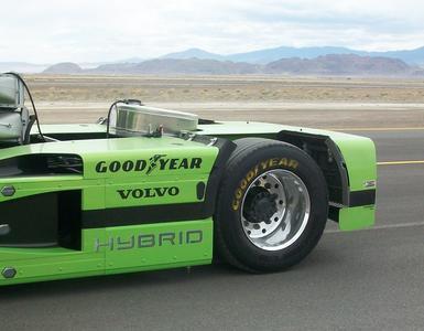 Goodyear Mean Green Weltrekord auf Goodyear