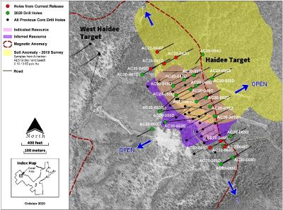 Revival Gold releases first seven drill holes from 2020 campaign and provides update on Beartrack-Arnett