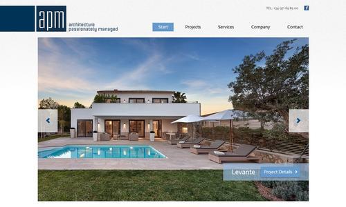 Exklusive Wohnträume auf Mallorca - neue Website für APM
