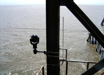 Kameras helfen unter anspruchsvollen Bedingungen bei der Sicherung der Küste von Alabama