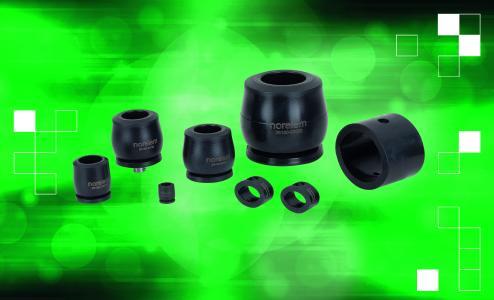 norelem erweitert sein Sortiment um Strukturdämpfer in vier verschiedenen Bauarten und 50 Einzelprodukten