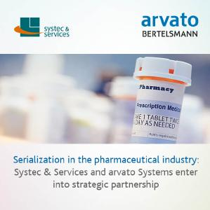 Systec & Services and arvato Systems offer an end-to-end serialization solution
