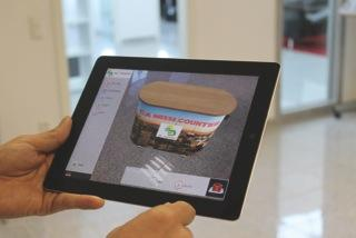 Augmented Reality – World Premiere for virtual projection on exhibition tour