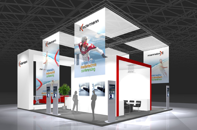 Kindermann Messestand ISE 2010_03