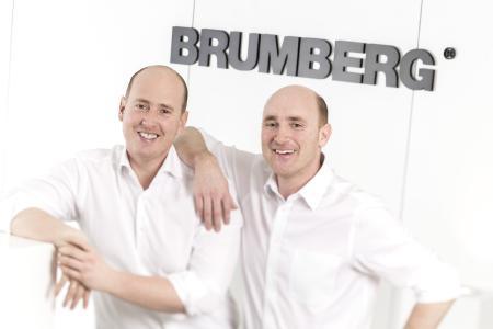 CEO Johannes Brumberg (left) and Benedikt Brumberg