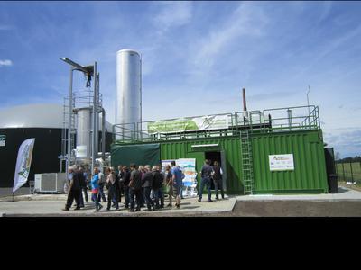 Biogasaufbereitungsanlage