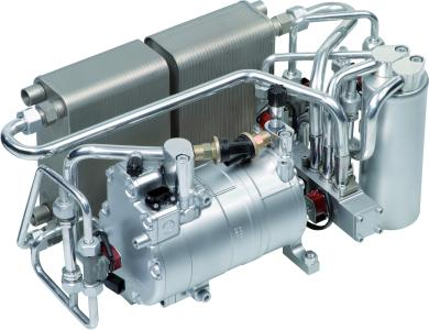 Heater/cooler module by Rheinmetall Automotive