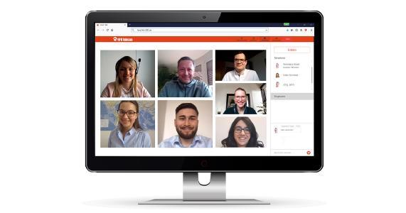 Virtuelles Meeting HFO und consulting.hochfranken e.V.