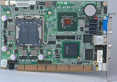HS-874P - The most powerful PISA-bus SBC based on Intel Q35 chipset