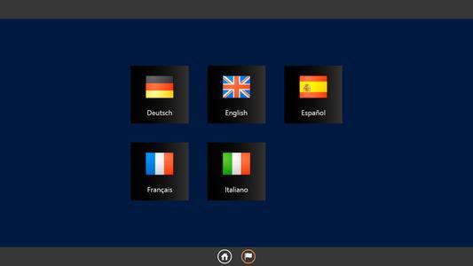 Auch mehrsprachige Touch-Anwendungen können problemlos erstellt werden