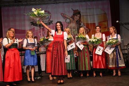Qu Messe Wels Volksfest Königin