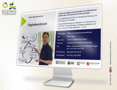 Workshop 'Digitalwerkstatt'. Vernetzte Daten und Prozesse als Erfolgsfaktor.