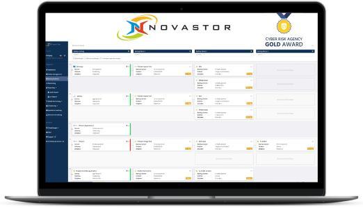 Cyber Risk Agency hat NovaStor DataCenter mit einem Gold-Award in der Kategorie Backup ausgezeichnet