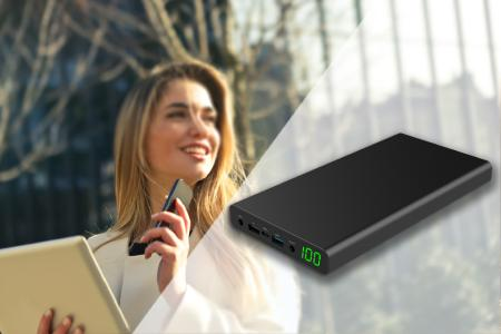 Nie mehr ohne Strom mit der Powerbank XORO MPB 3000