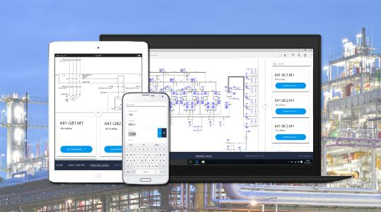 Aucotec's Engineering Base enables cooperative planning of machines, plants and mobile systems in the Cloud. It can be used regardless of hardware and client installations (© AUCOTEC AG)
