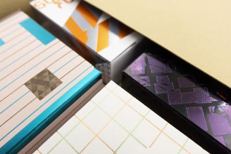 Die neue Verpackungskollektion Box next to Box, die auf der Luxe Pack Monaco vorgestellt wird / Foto: Kurz