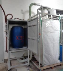 Nachher: Eine neue Fassreinigungsstation ersetzt den alten Reinigungsplatz
