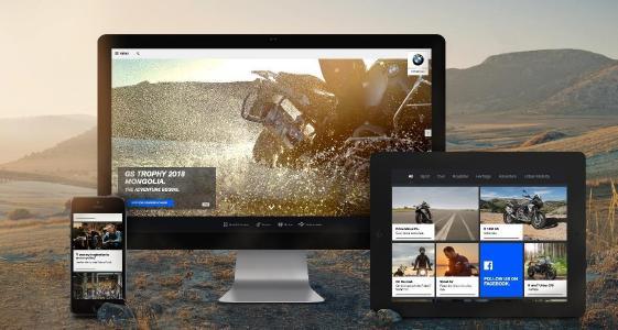 BMW Motorrad geht mit neuem Web-Auftritt on Air