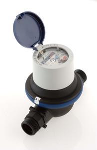 Der 620-C Wasserzähler mit Verbundwerkstoffgehäuse.