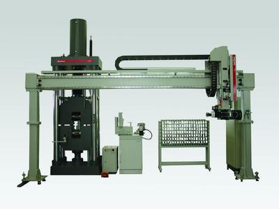 Porta system with specimen magazine for 133 specimens / Factory photo: Zwick GmbH & Co. KG, Ulm, Germany