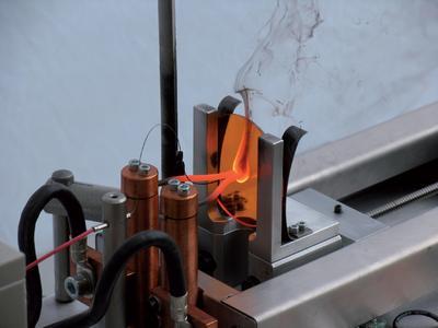 Glühdraht-Prüfung: Prüfung des Flammverhaltens von Kunststoffen und ...
