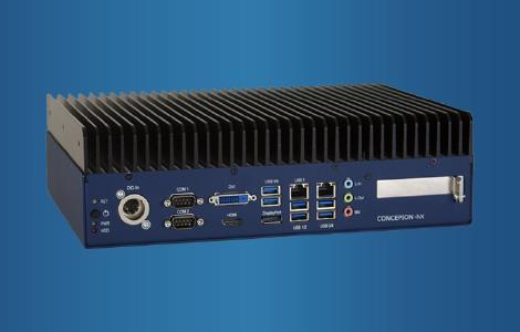 Embedded PC Concepion®-hX mit Intel® Core™ i CPU der 10. Generation