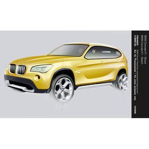 BMW Concept X1 - Sketch