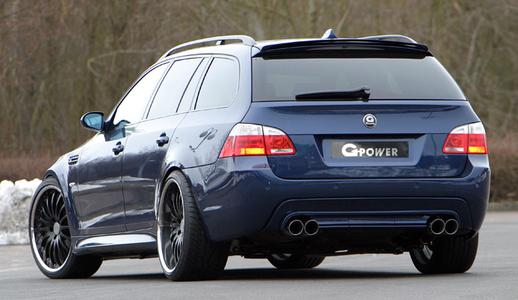 G-POWER 4-pipe-exhaust on 5series touring a