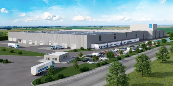 thyssenkrupplogistics center Rotenburg  (c)  Willy Johannes Bau GmbH