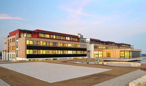 Der juwi-Firmensitz in Wörrstadt gilt als das energieeffizienteste Bürogebäude der Welt und ist mit dem Deutschen Klimaschutzpreis ausgezeichnet worden