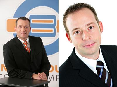 v.l.n.r.: Holger Reinmann, Vertriebsleiter Underground8 GmbH und Thomas Rose, Productmanager TAROX GmbH