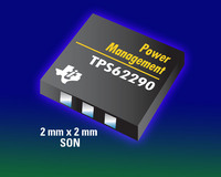 TI Unveils Smallest 2.25-MHz Low-Power DC/DC Converters for Portable Designs