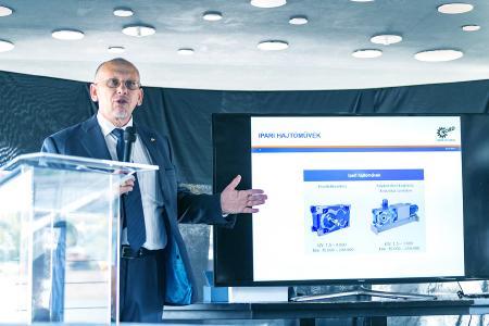 Herr Gabor Roder, Geschäftsführer von NORD Hajtástechnika Kft.