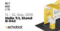 Echobot auf der dmexco 2019: Innovative Sales Intelligence am Stand B-042 in Halle 7.1