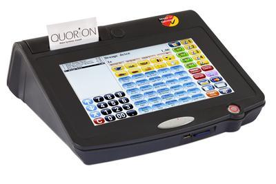 QTouch 10 - All in One Kassensystem (von links)