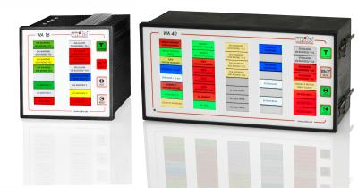 Windows-Alarm-Annunciator WA16 + WA40: Milestones in alarm annunciator technology