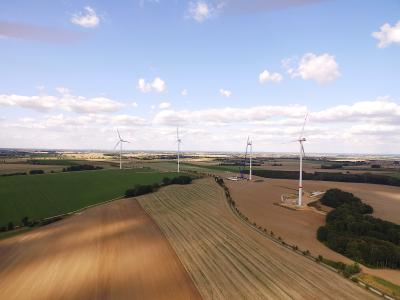 CEE Group acquires juwi's milestone 14,4 MW wind farm Mohlis / Copyright: juwi AG