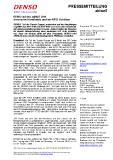 [PDF] Pressemitteilung: DENSO auf der LogiMAT 2019