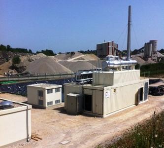 Passend zum nachhaltigen Gesamtkonzept hat die Geothermische Kra...