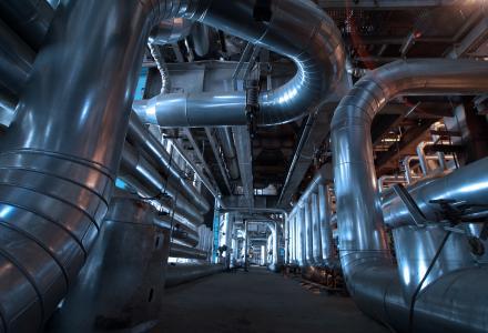 Hydraulische Einbindung von BHKW-Anlagen (Quelle: Fotolia - Andrei Merkulov)