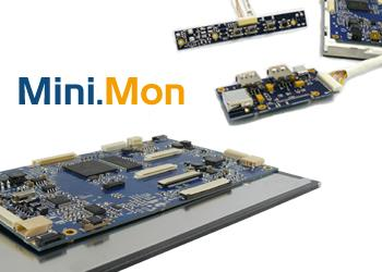 MiniMon USB Monitor Sets for easy integration